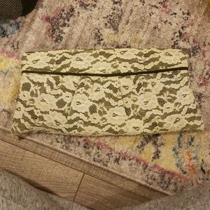 Handbags - Lace clutch